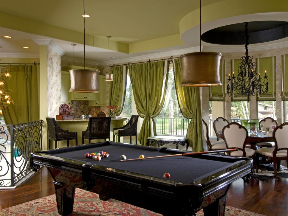 Game room design game room ideas gallery hgtv for Swimming pool room decor