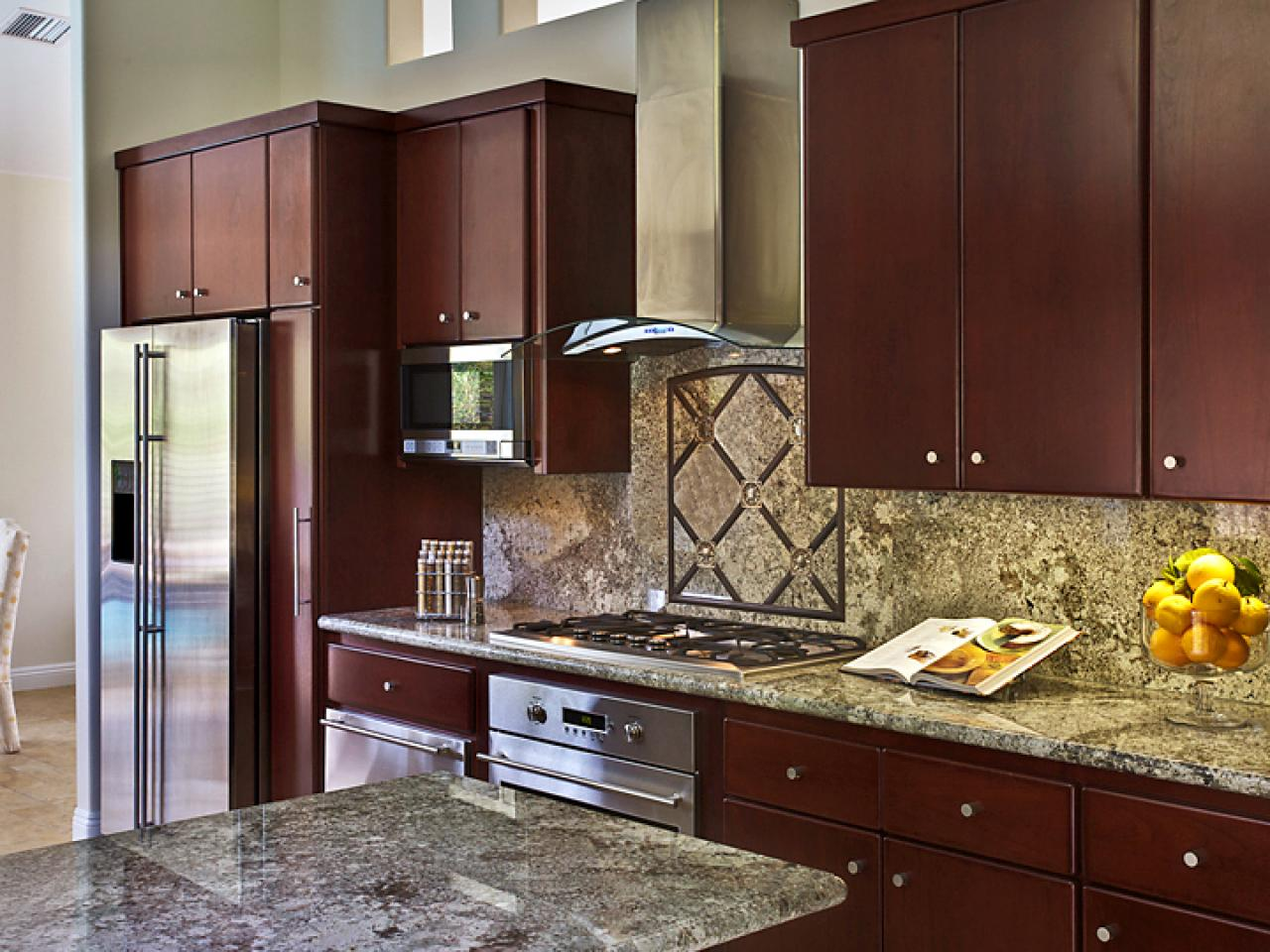 Stock kitchen cabinets pictures ideas tips from hgtv for Individual kitchen units