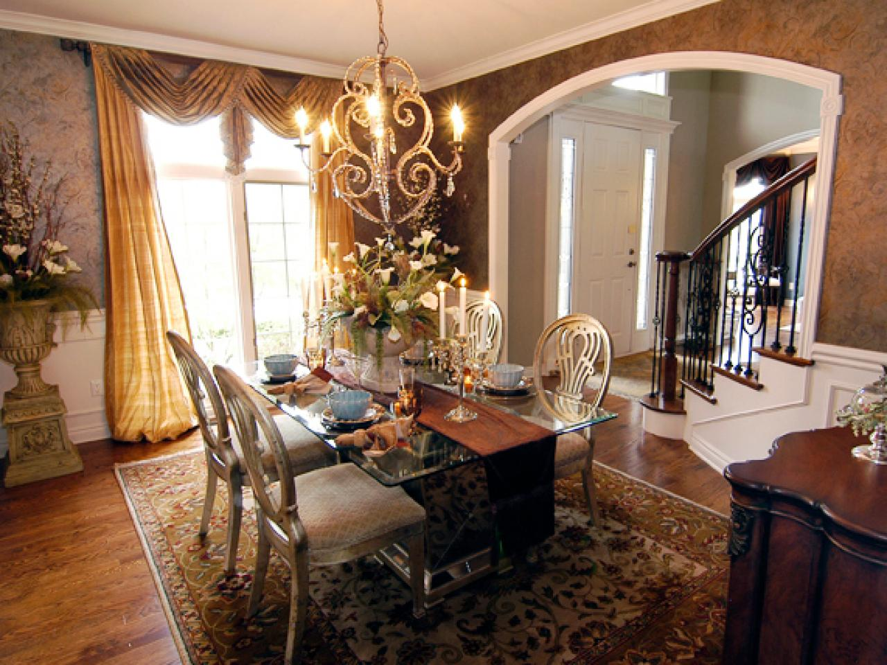 Budget friendly dining room updates from expert designers for Dining room living room ideas