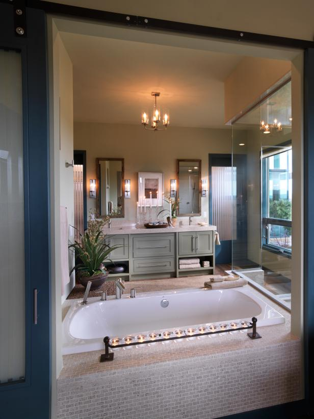 Hgtv dream home 2010 master bathroom pictures and video Hgtv bathroom remodel pictures