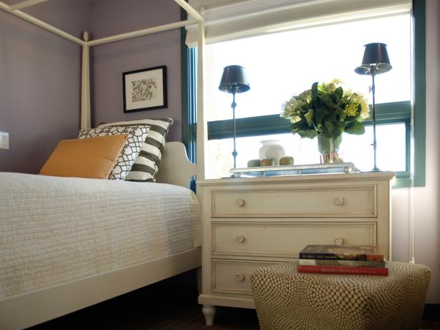 Purple Guest Bedroom