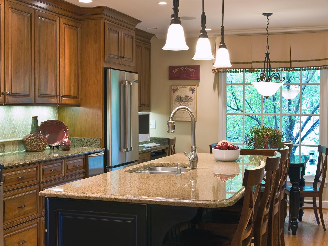 Kitchen Island Options white kitchen islands: pictures, ideas & tips from hgtv | hgtv