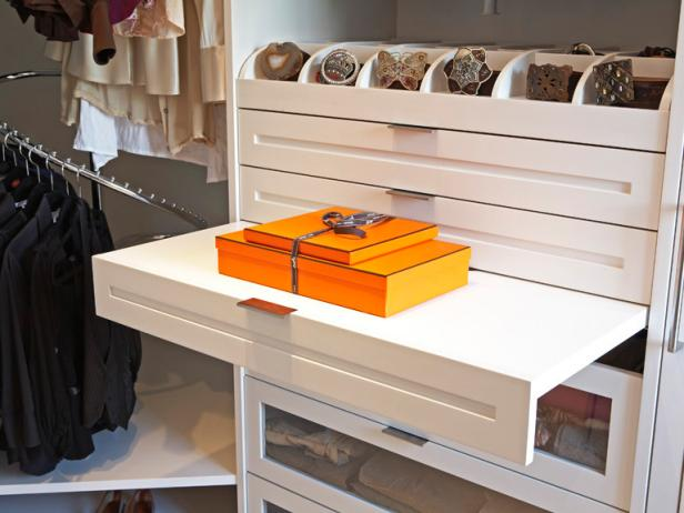 Closet Belt Organizer