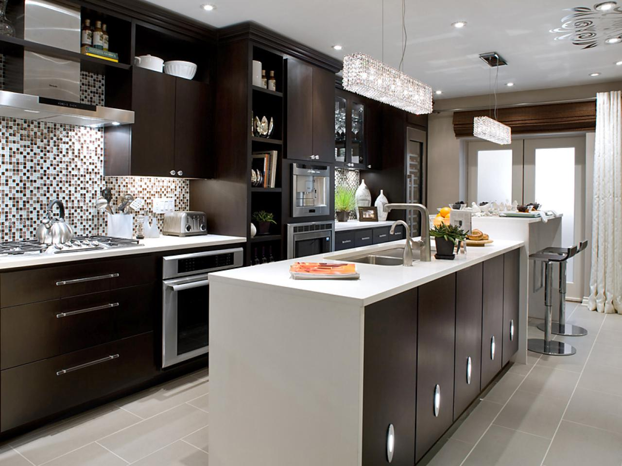Modern Kitchen And Rowhouse Retirement Begins With Modern Kitchen Hgtv