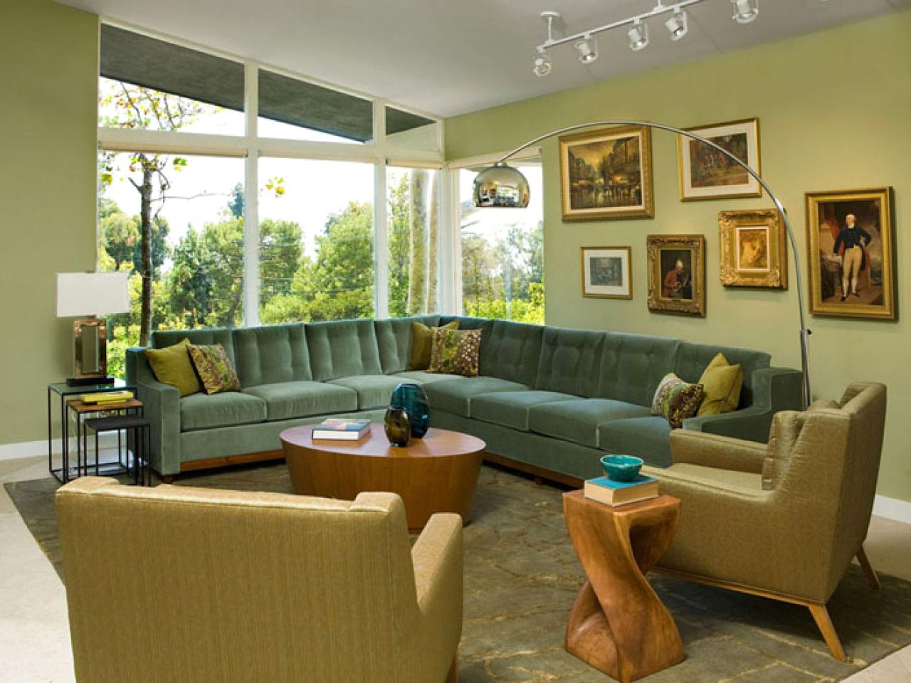 Trend Monochromatic Living Rooms Color Palette And