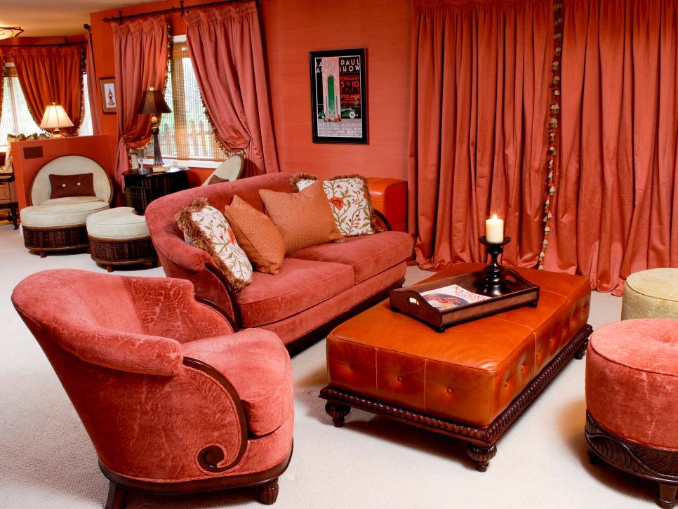 Trend Monochromatic Living Rooms Hgtv