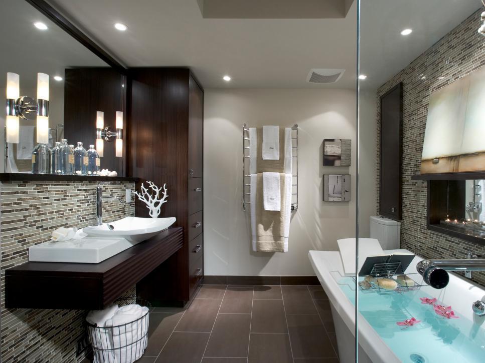Design Your Bathrooms 10 stylish bathroom storage solutions | hgtv
