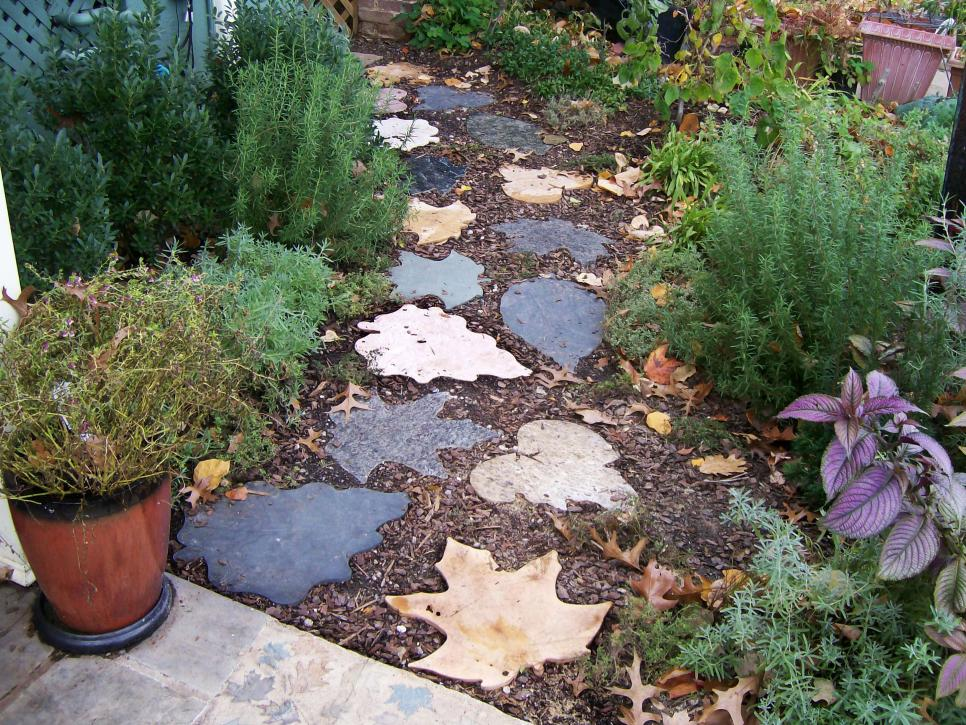 12 ideas for creating the perfect path hgtv for Interesting garden designs