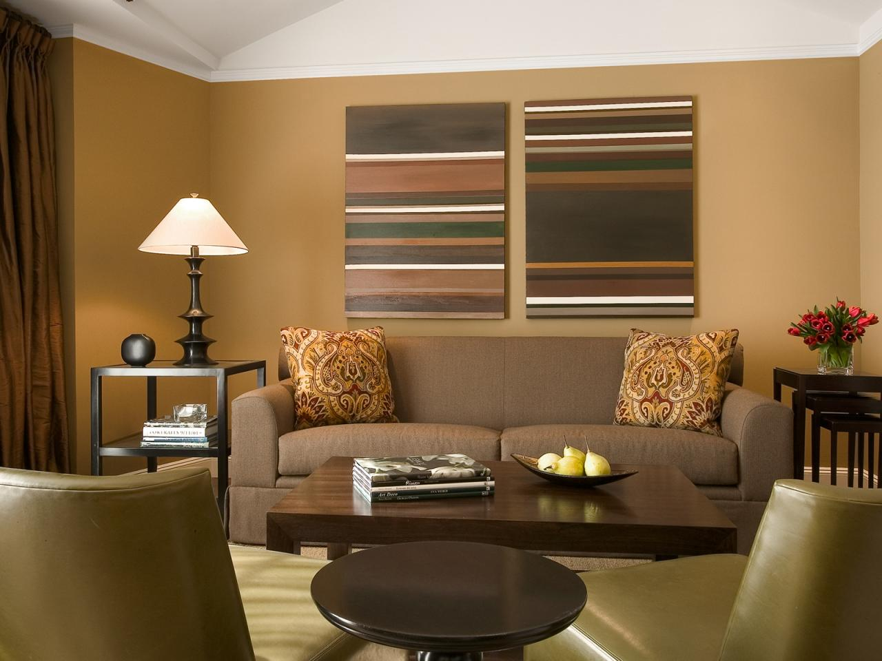 Brown Living Room Color Schemes 1280 x 960