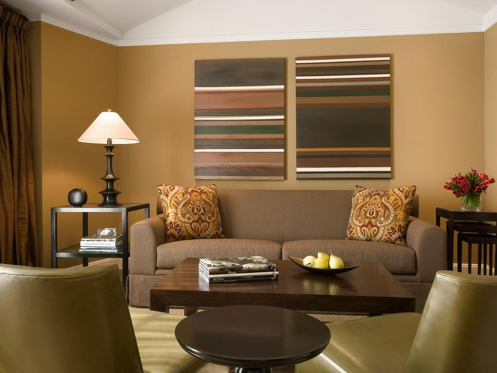 Top Living Room Colors and Paint Ideas   HGTV. Wall Colour Design For Living Room. Home Design Ideas