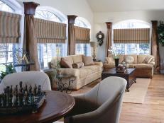 15 stylish window treatments hgtv - Window Treatments Ideas For Living Room