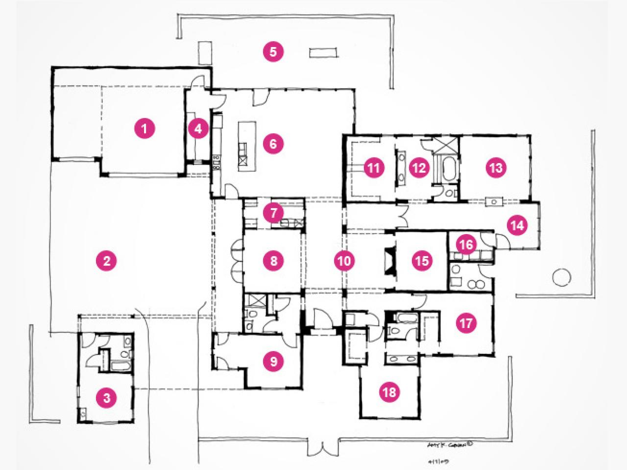 Hgtv Dream Home 2010 Floor Plan And Rendering Pictures