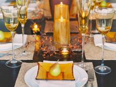 Fall Tablescape With Natural Elements