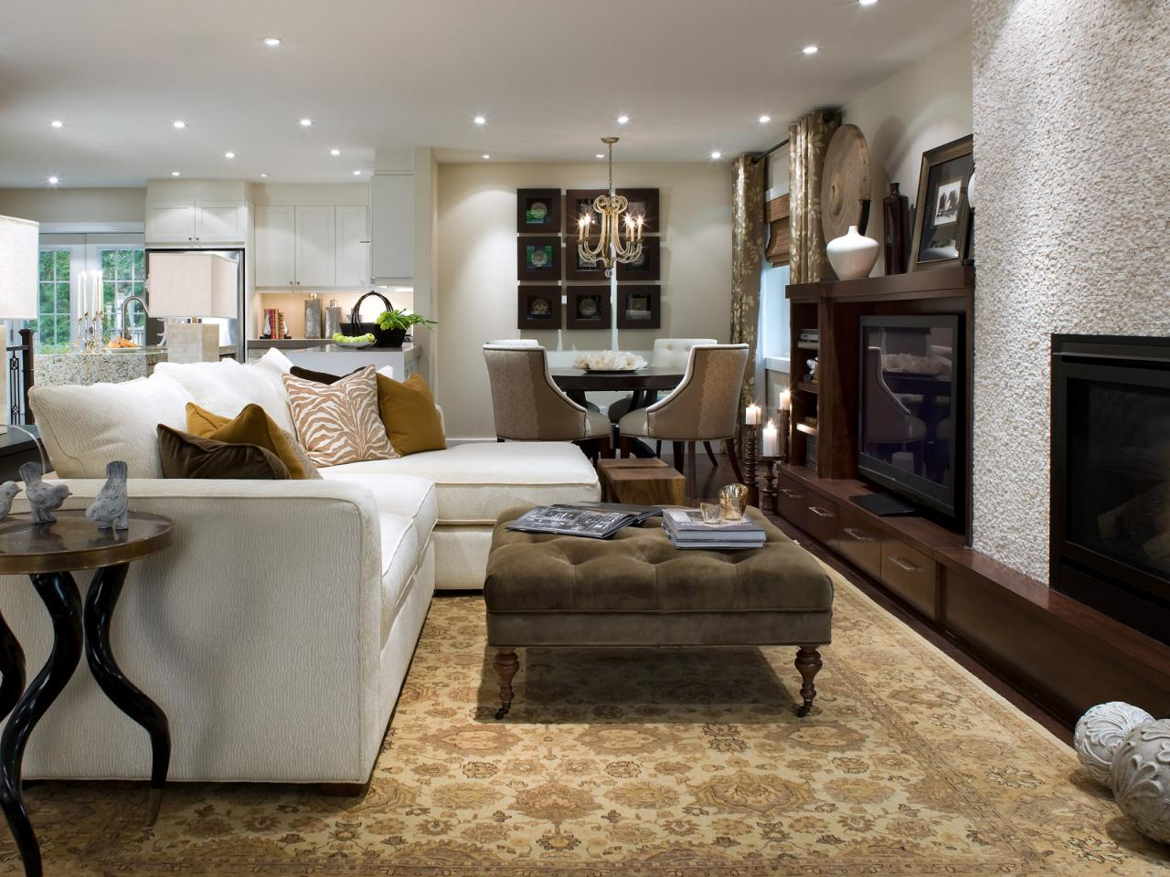 Top 12 living rooms by candice olson living room and Living and dining room decorating ideas