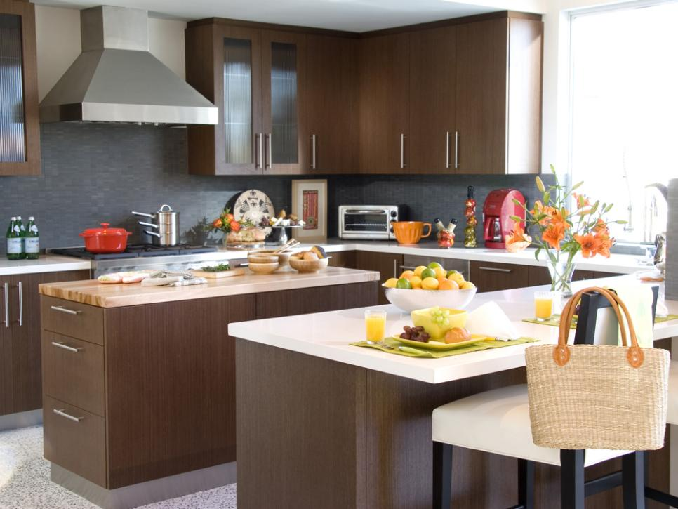 Modern Kitchen Color Combinations kitchen trends: hottest color combos | hgtv