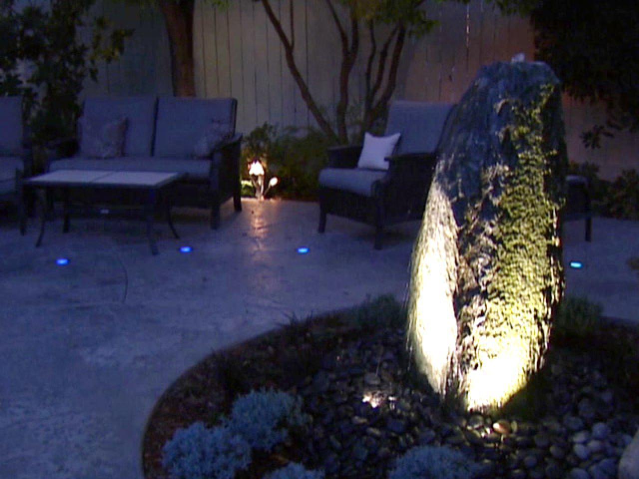 Outdoor Landscape Lighting Carlsbad : Outdoor landscape lighting hgtv