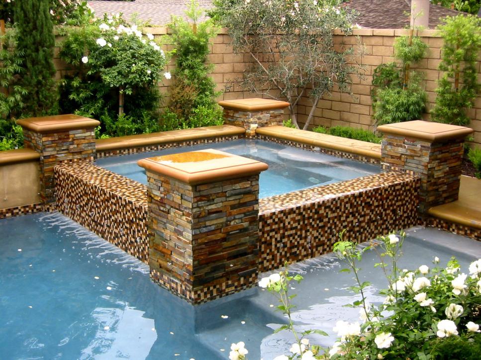 Mediterranean-Inspired Swimming Pools