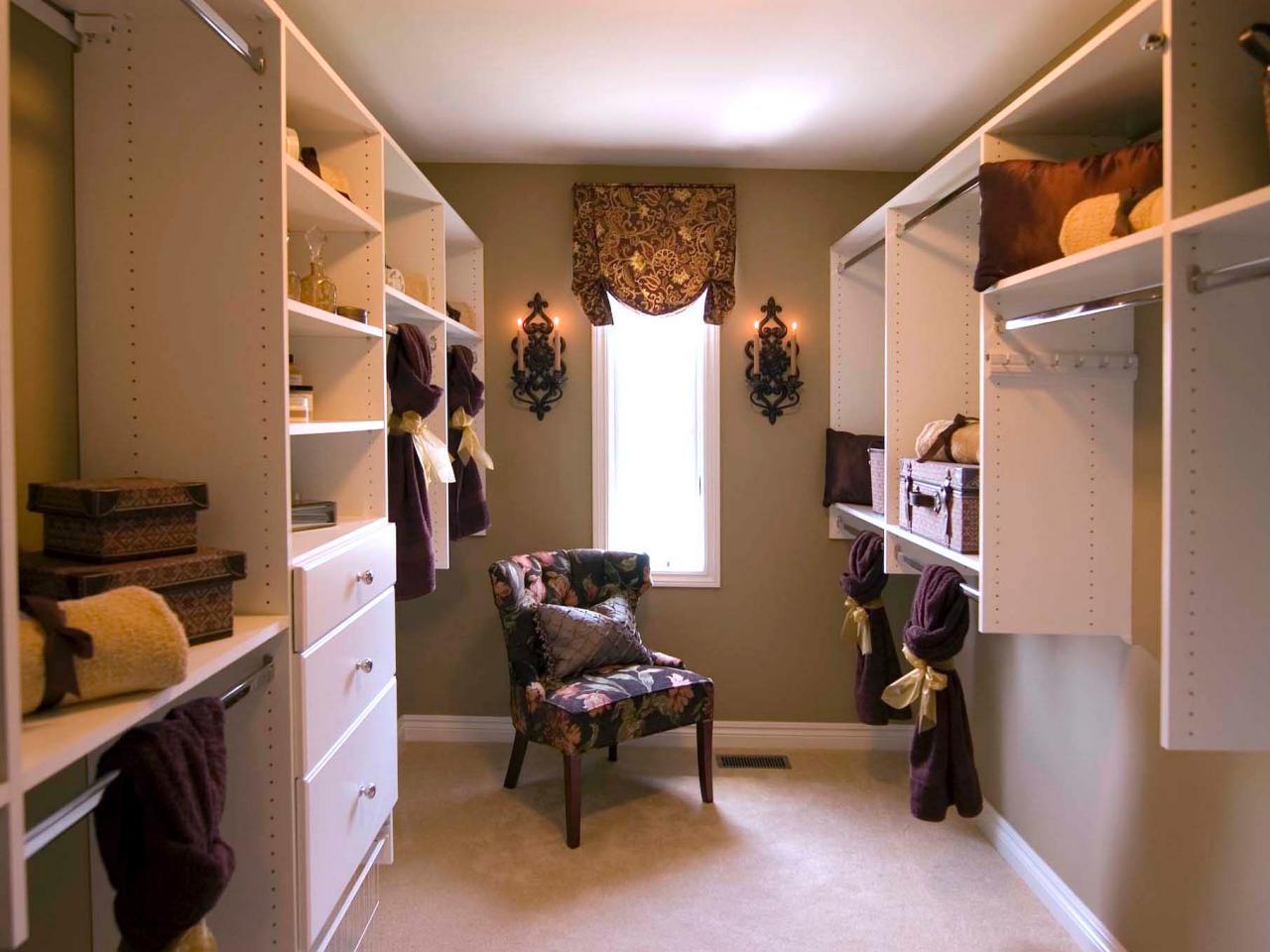 Convert Bedroom To Closet 10 ways to get the walk-in closet of your dreams | hgtv's