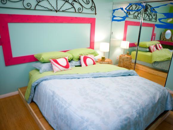 Candice 39 s design tips kids 39 room makeovers hgtv for Apple green bedroom ideas