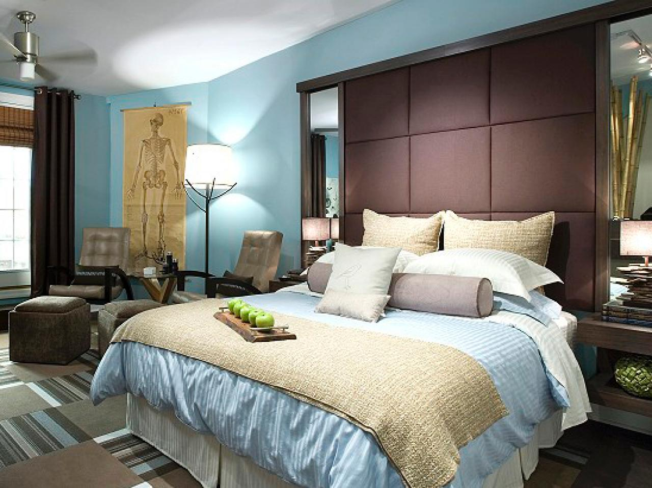 Eco chic master bedroom hgtv for Master bedrooms