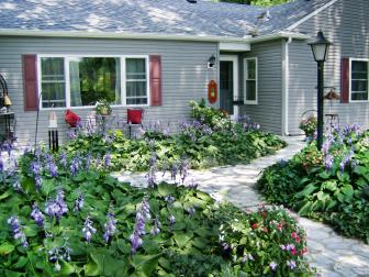 Cottage Garden at Entryway