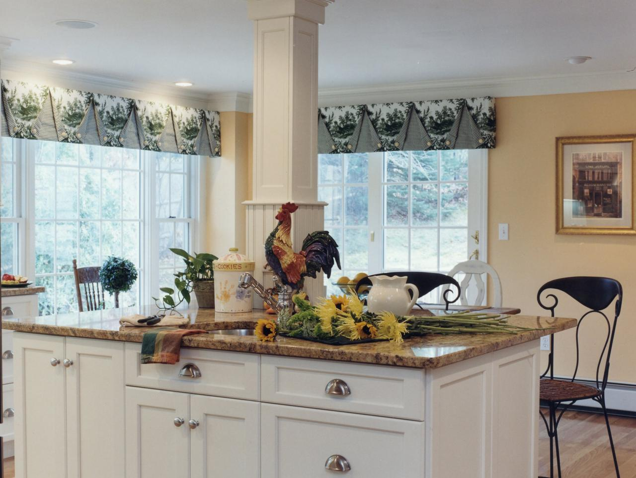 Kitchen Window Dressing Six Tips For Great Window Treatments Hgtv