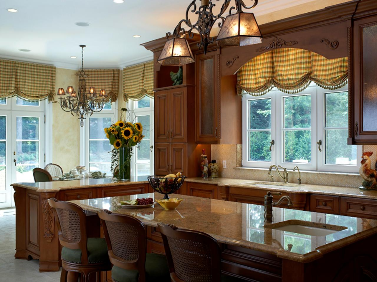 Kitchen Shades Six Tips For Great Window Treatments Hgtv