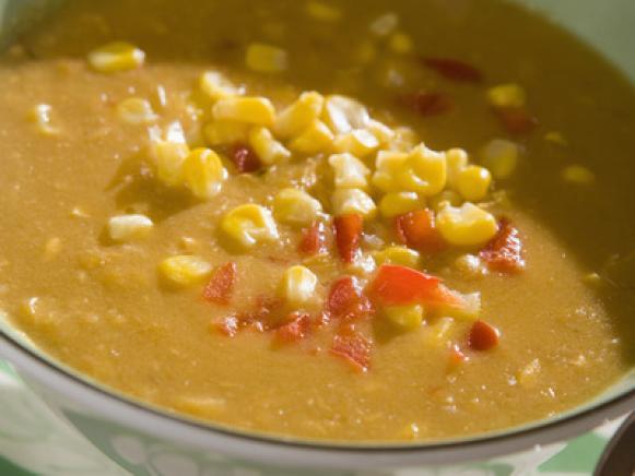 Roasted Tomato Corn Chowder