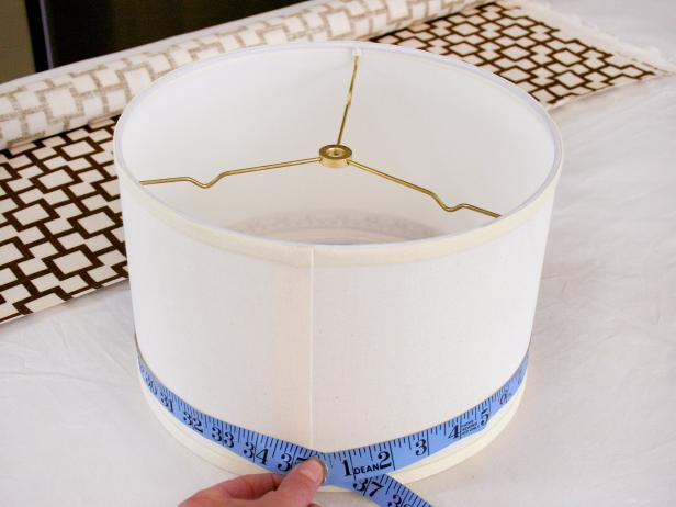 Measure Lampshade Circumference