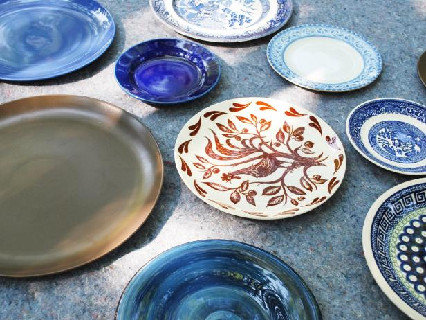 Decorative Mismatched Dishware