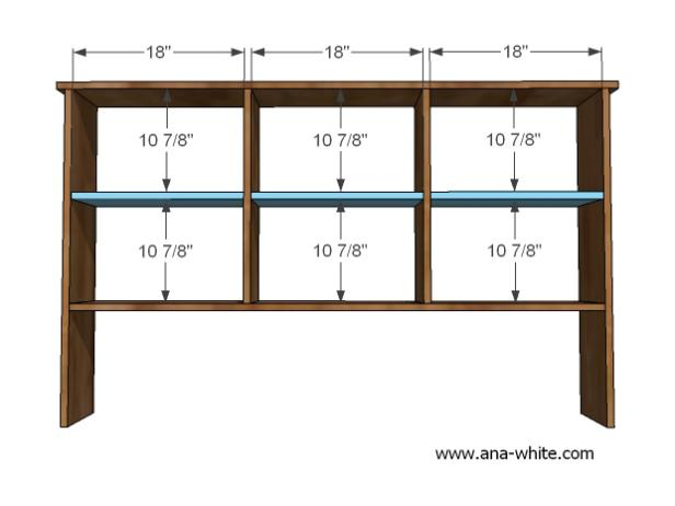 Shelving Dimensions