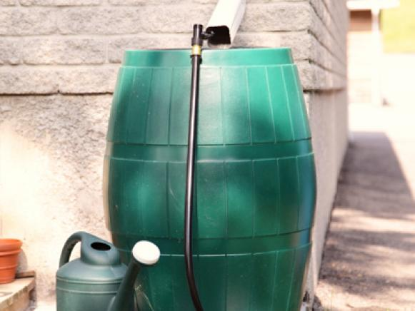 Eco Conscience Rain Barrel