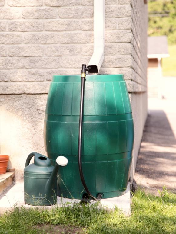 Conserve Water With A Rain Barrel Hgtv