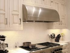 Stainless Steel Cook Range and Hood