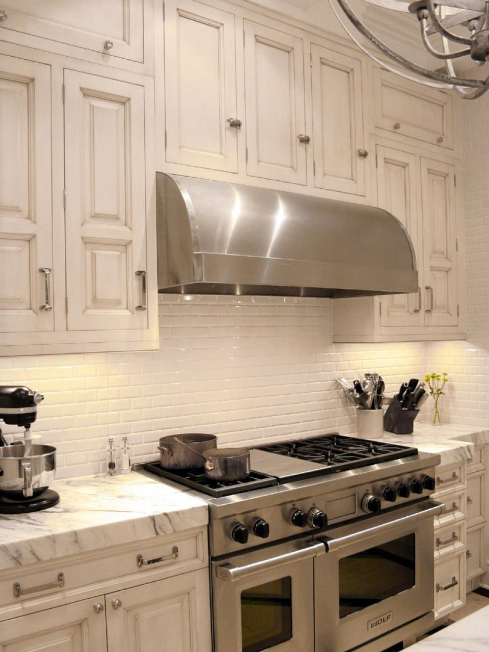 Large Tile Kitchen Backsplash Backsplash Ideas Inspirations Hgtv