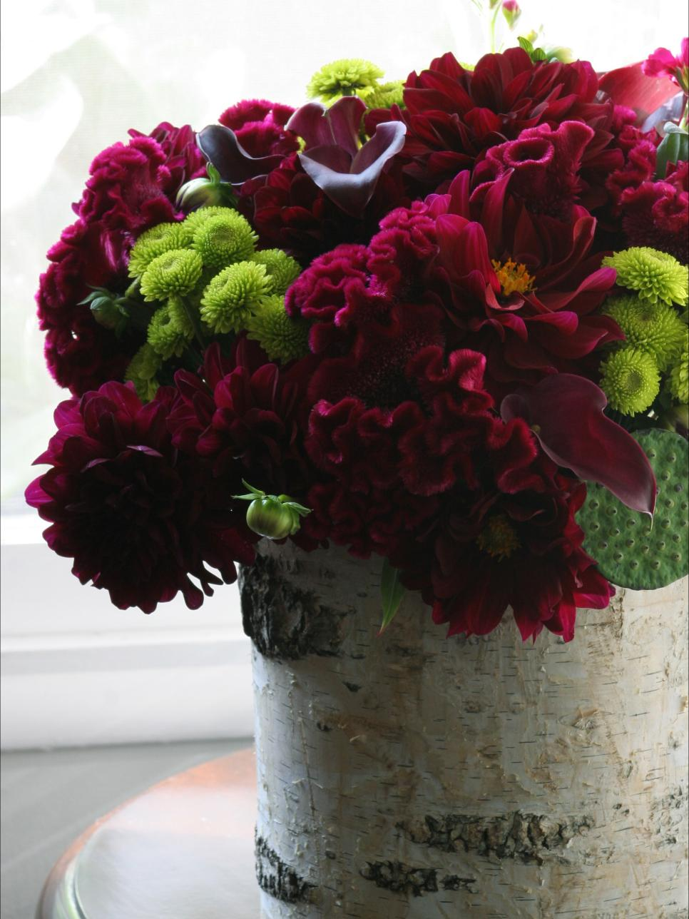 Easy to create centerpieces hgtv
