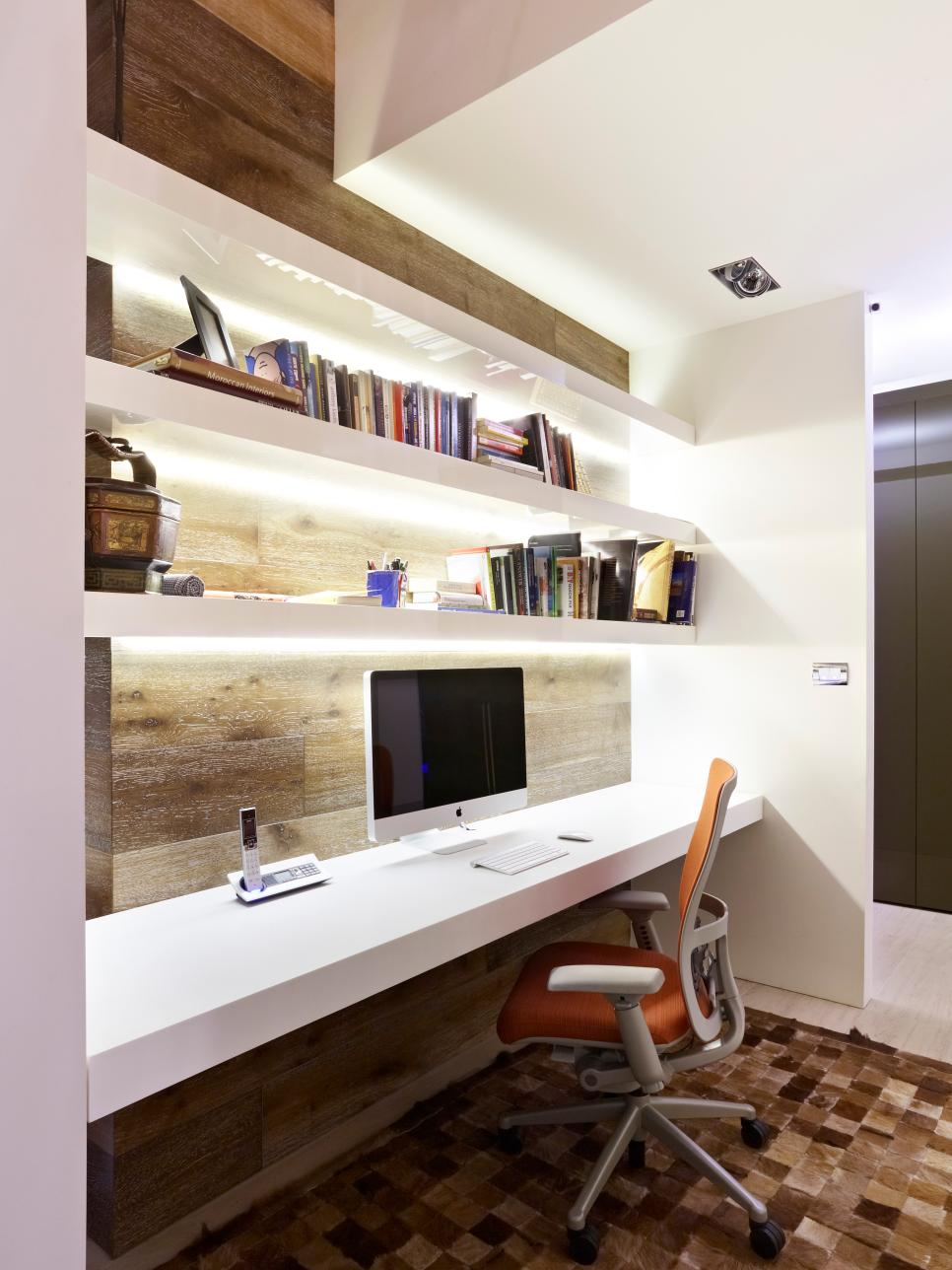modern home offices hgtv - Modern Home Office