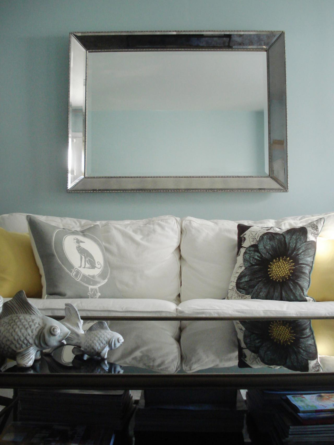 Photo page hgtv for Big mirrors for living room