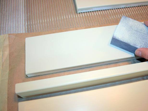 Step 5: Sand MDF Board