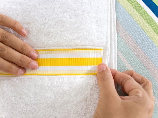 Decorative Ribbon for Bath Towel