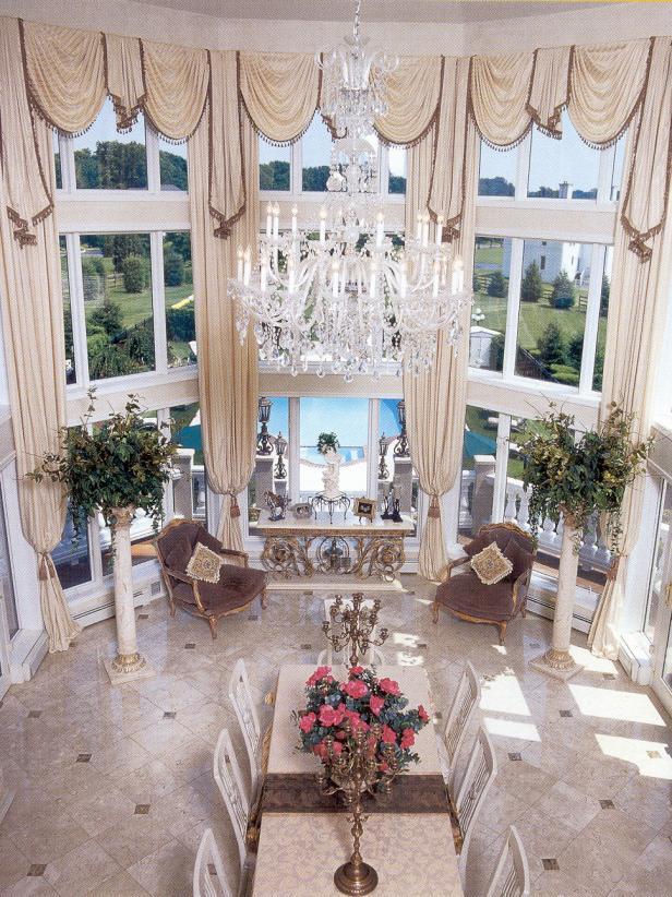 Opulent Dining Room Chandelier