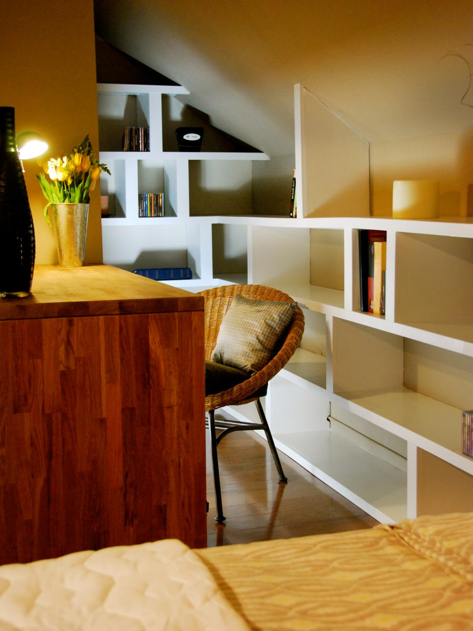 Awesome Small Space Home Offices Hgtv Largest Home Design Picture Inspirations Pitcheantrous