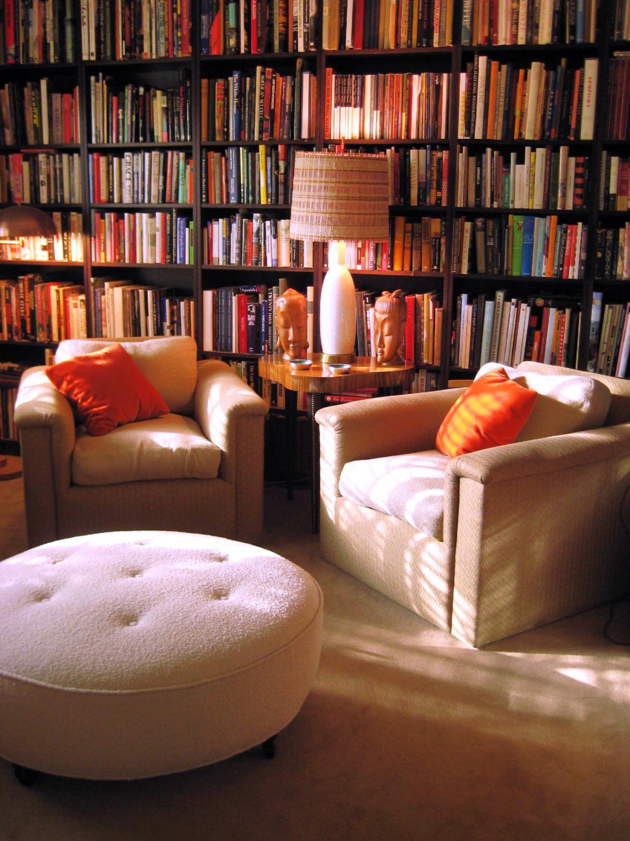 12 dreamy home libraries decorating and design ideas for interior rooms hgtv - Books on home design ...