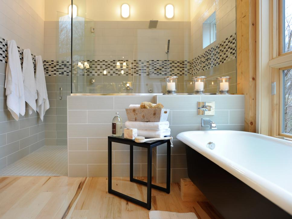 11 steps to a dream bathroom hgtv for Bathroom designs photos