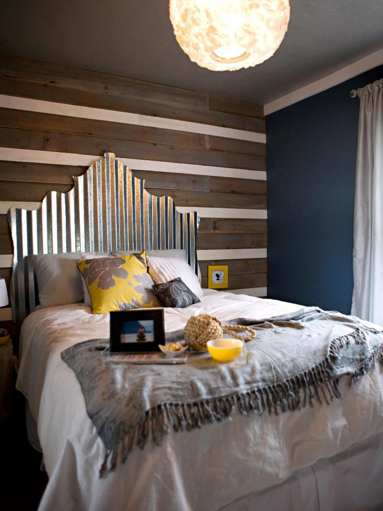 Creative upcycled headboard ideas bedrooms bedroom for Bedroom headboard ideas