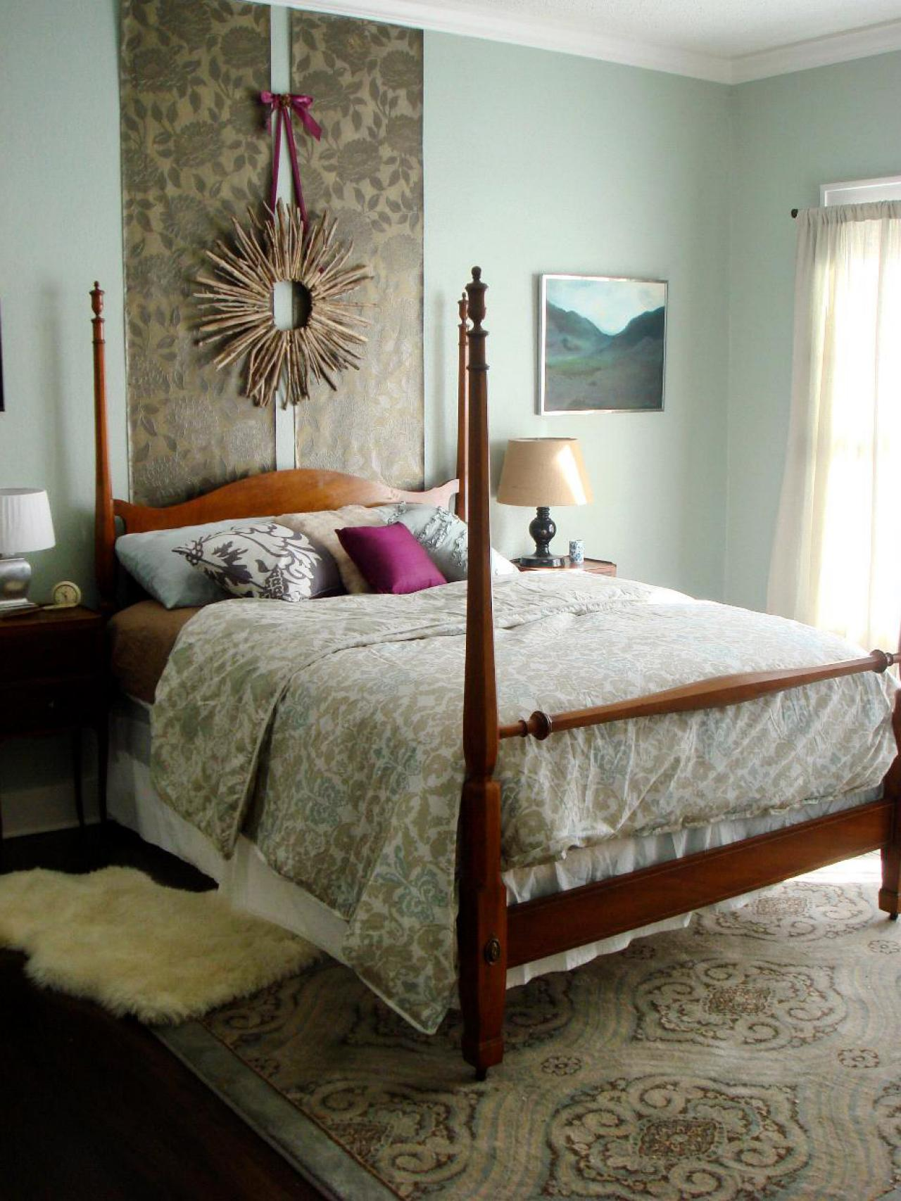 17 budget headboards bedrooms bedroom decorating ideas hgtv. Black Bedroom Furniture Sets. Home Design Ideas