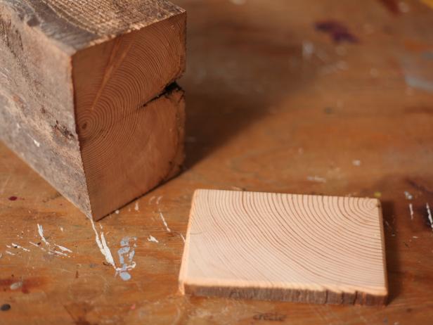 Cutting Wood For Custom Coasters