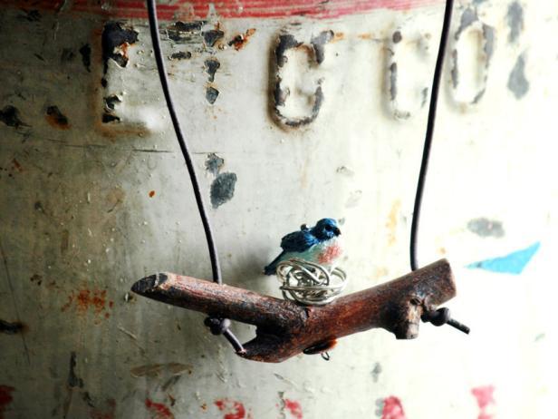 Handmade Woodland Necklace
