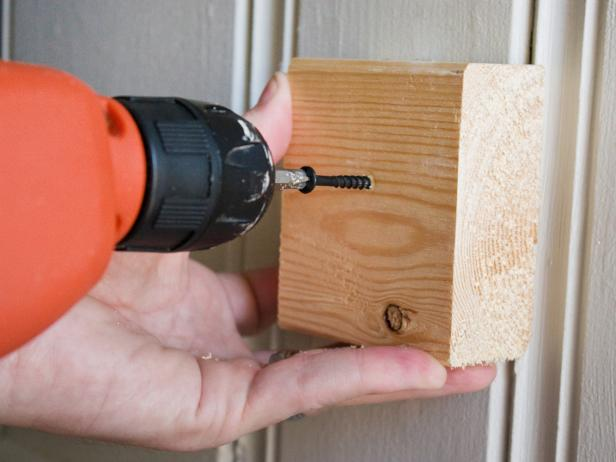 Attach Wood Cleat to Wall