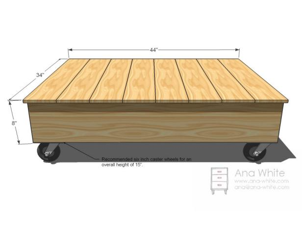 The Overall Dimensions Of This Factory Cart Coffee Table Are 59 Inches Wide 36 Inches